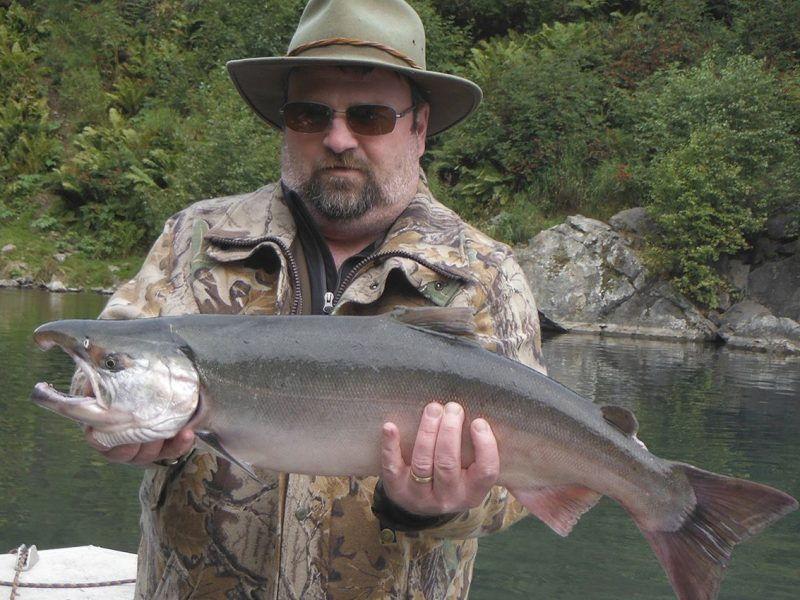 big lake silver salmon fishing