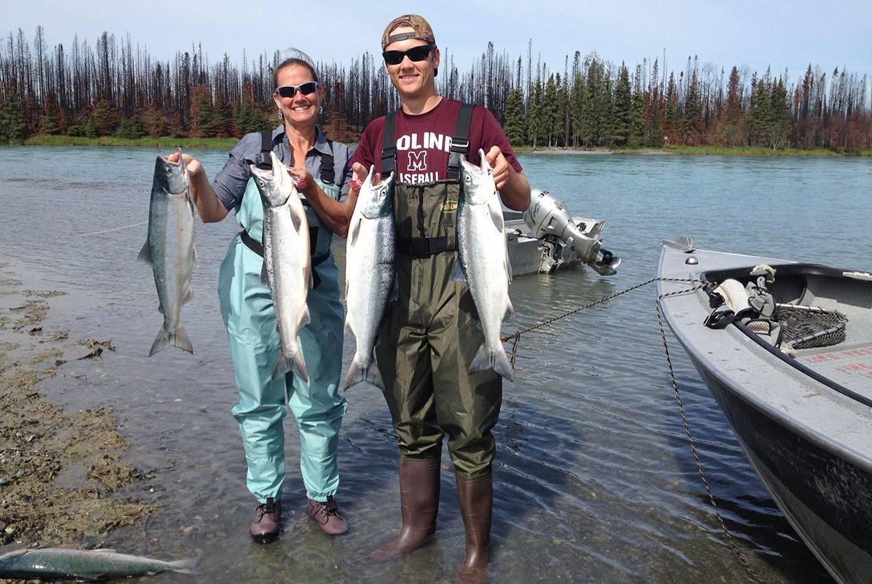 kenai river salmon charter