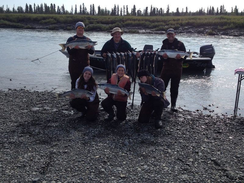 kenai river sockeye fishing
