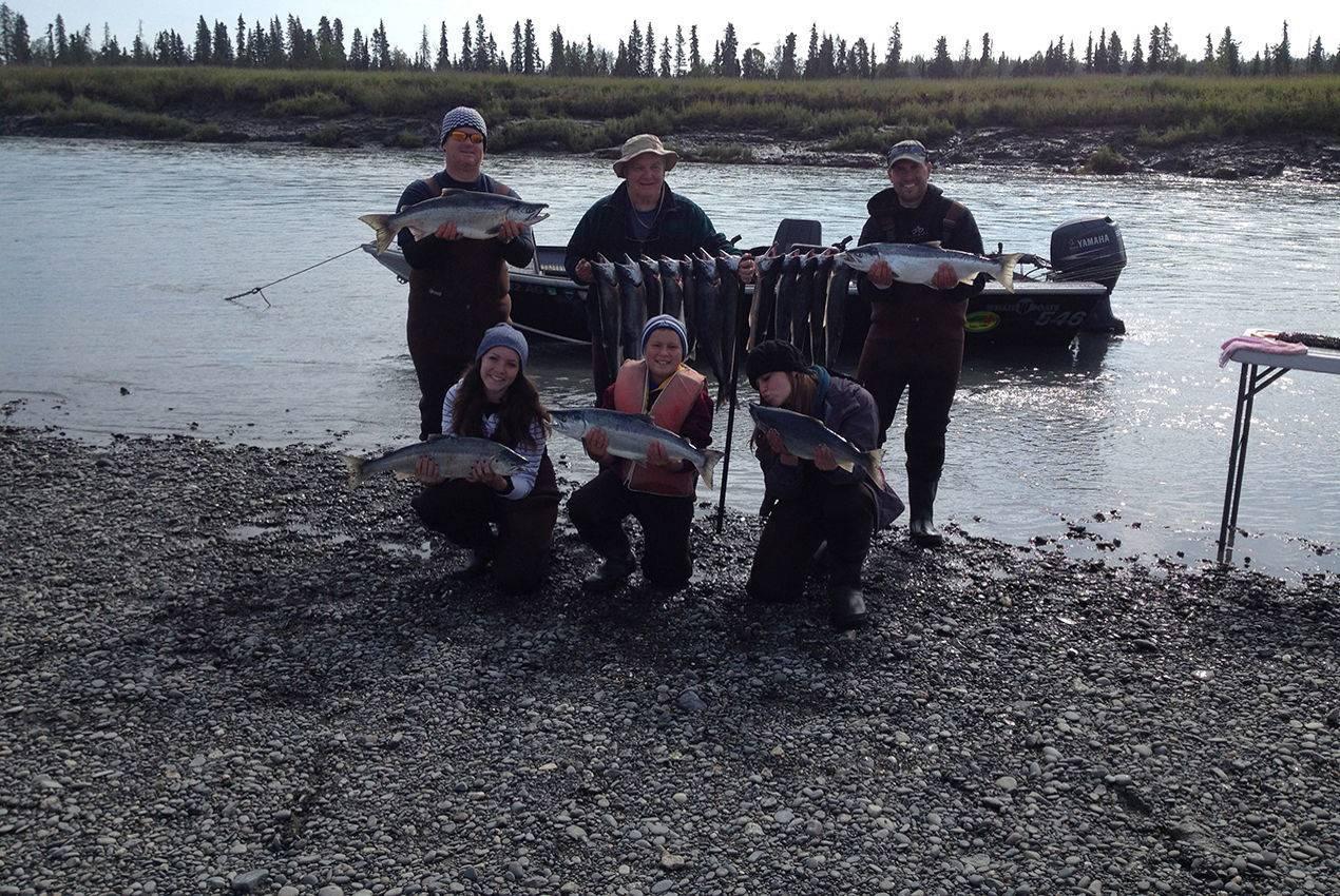 kenai river sockeye fishing