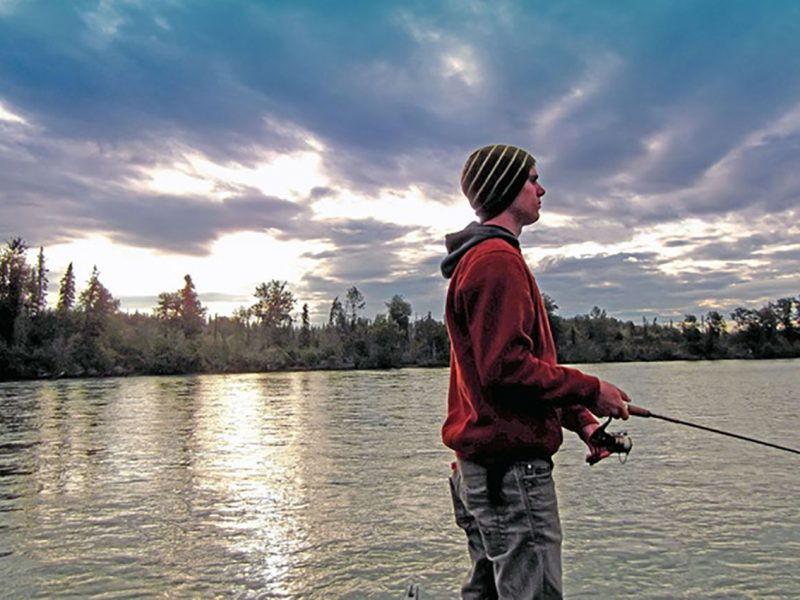 fishing on the lower kenai river