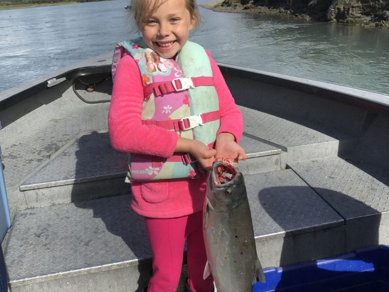 Avery with her silver