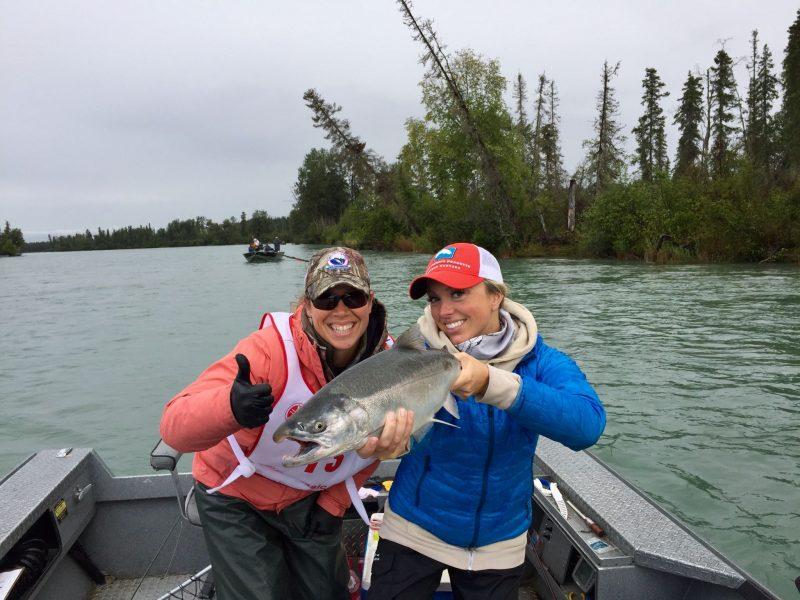 Kasey & Kari's Silver Salmon