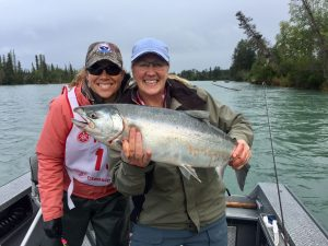 Kasey's Awesome Silver Salmon