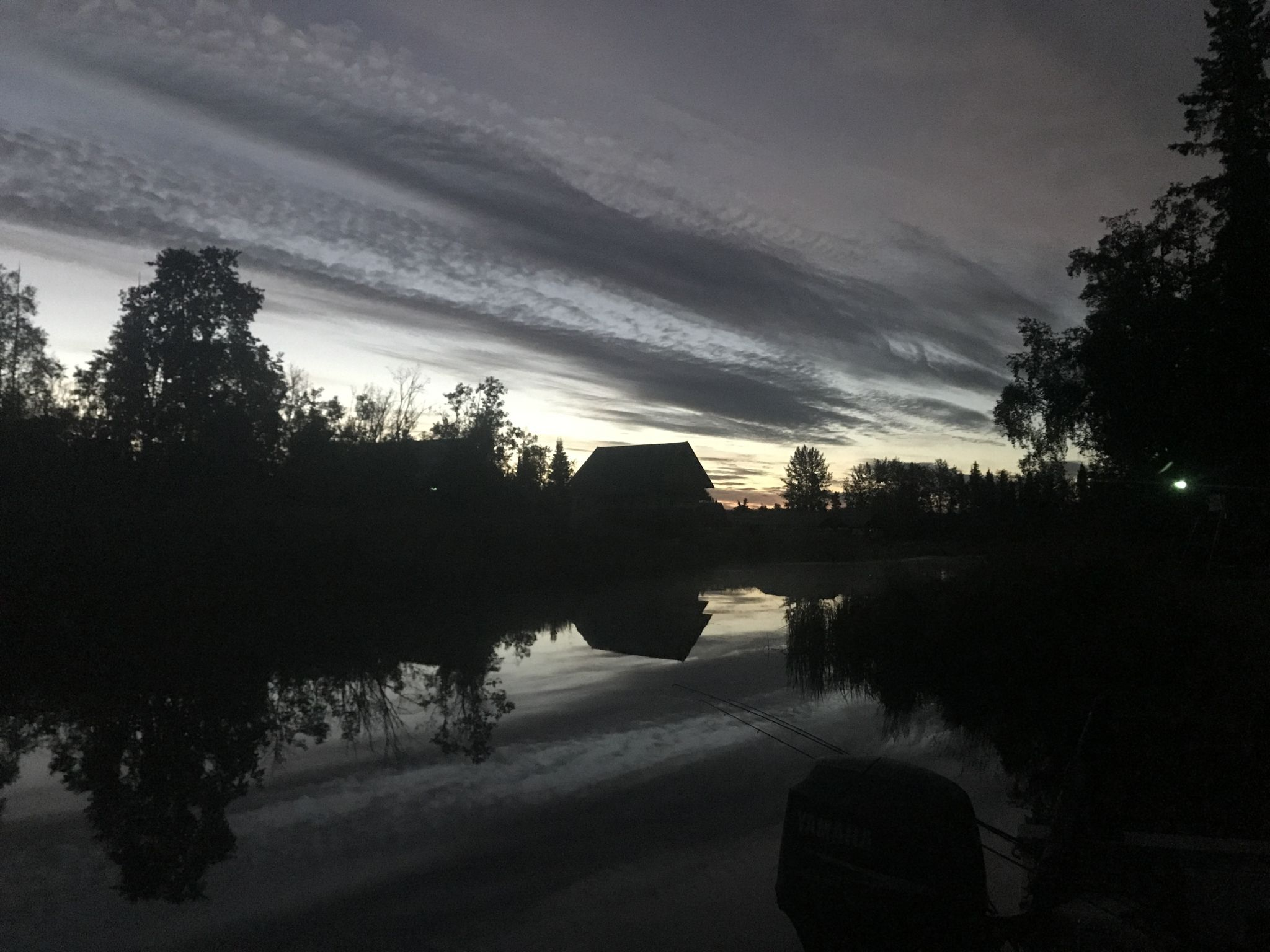 Morning on the Kenai River